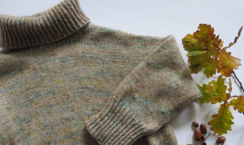 Mein Wednesday Sweater, oder: Mehr Herbst geht nicht